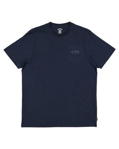 4 Puff Arch T-Shirt Blue 9517020 Billabong
