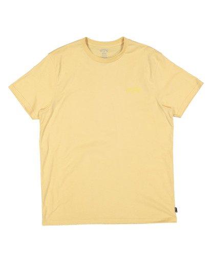4 Puff Arch Short Sleeve Tee Yellow 9517020 Billabong