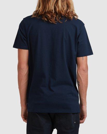 2 Puff Arch T-Shirt Blue 9517020 Billabong