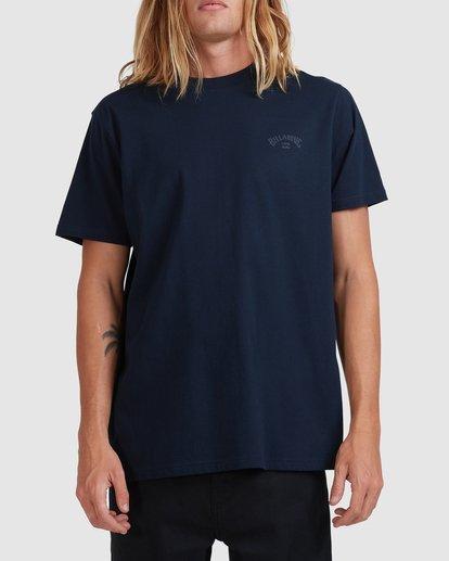 0 Puff Arch T-Shirt Blue 9517020 Billabong