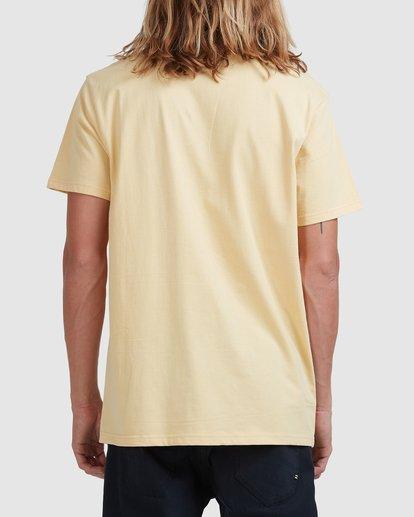 2 Puff Arch Short Sleeve Tee Yellow 9517020 Billabong