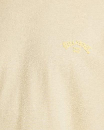 3 Puff Arch Short Sleeve Tee Yellow 9517020 Billabong