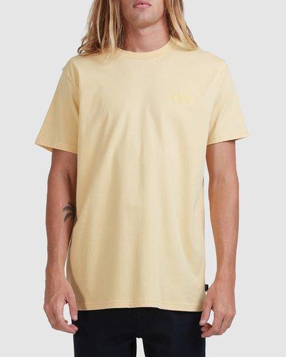 0 Puff Arch Short Sleeve Tee Yellow 9517020 Billabong