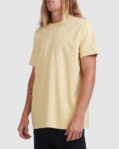 1 Puff Arch Short Sleeve Tee Yellow 9517020 Billabong