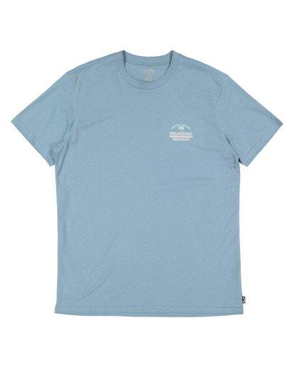 4 Combo Supply Short Sleeve Tee Blue 9517021 Billabong