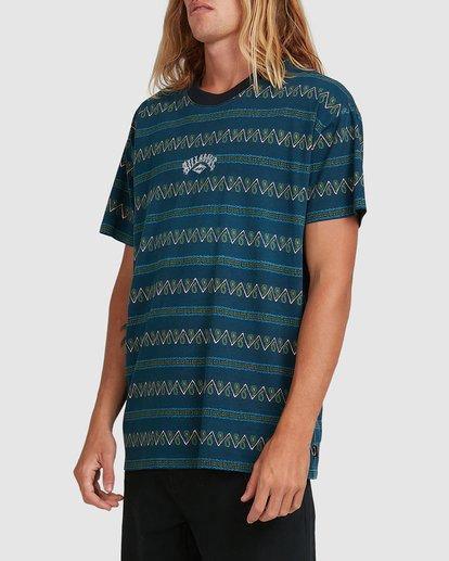 1 Full Rack Short Sleeve Tee Blue 9517025 Billabong