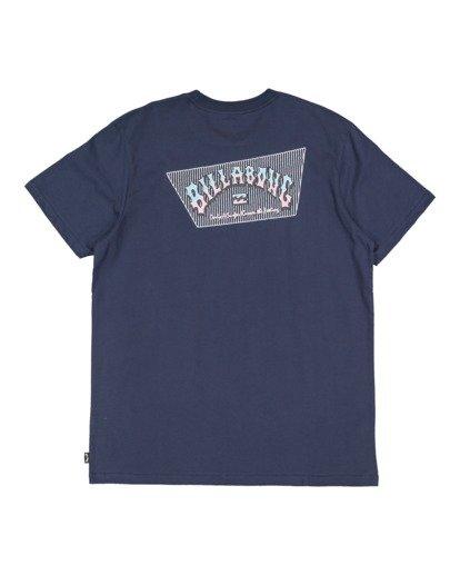 5 Global Arch Short Sleeve Tee Blue 9517028 Billabong