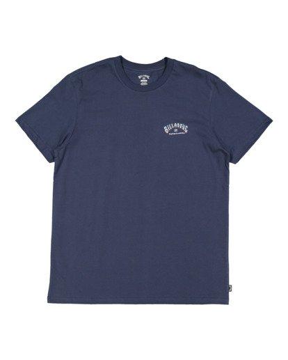 4 Global Arch Short Sleeve Tee Blue 9517028 Billabong