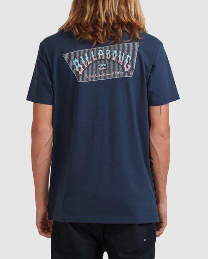 2 Global Arch T-Shirt Blue 9517028 Billabong