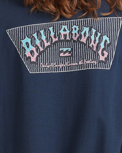 3 Global Arch T-Shirt Blue 9517028 Billabong