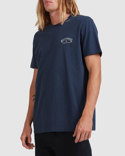 1 Global Arch T-Shirt Blue 9517028 Billabong