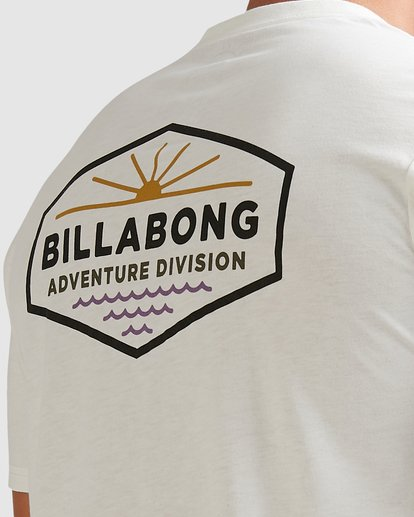 3 Adventure Division Cove Short Sleeve Tee White 9517030 Billabong