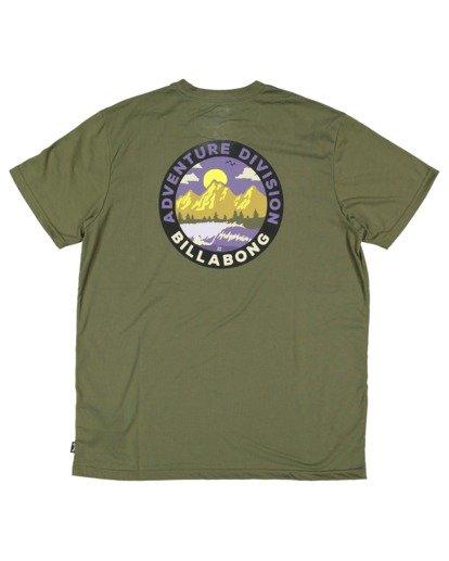 5 Adventure Division View Short Sleeve Tee Green 9517031 Billabong