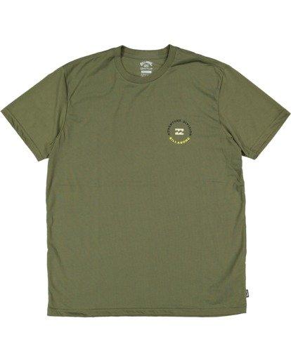 4 Adventure Division View Short Sleeve Tee Green 9517031 Billabong