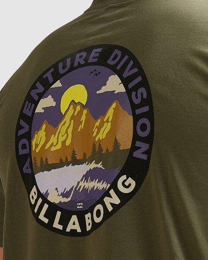 3 Adventure Division View Short Sleeve Tee Green 9517031 Billabong