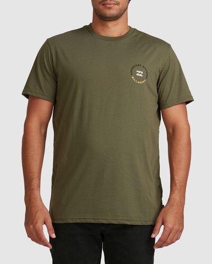 0 Adventure Division View Short Sleeve Tee Green 9517031 Billabong