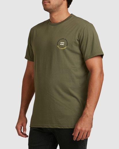 1 Adventure Division View Short Sleeve Tee Green 9517031 Billabong