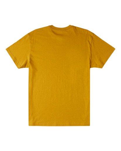 5 Our World Short Sleeve Tee Yellow 9517036 Billabong