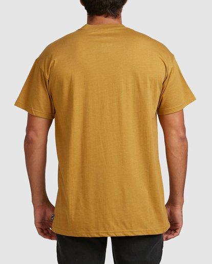 2 Our World Short Sleeve Tee Yellow 9517036 Billabong