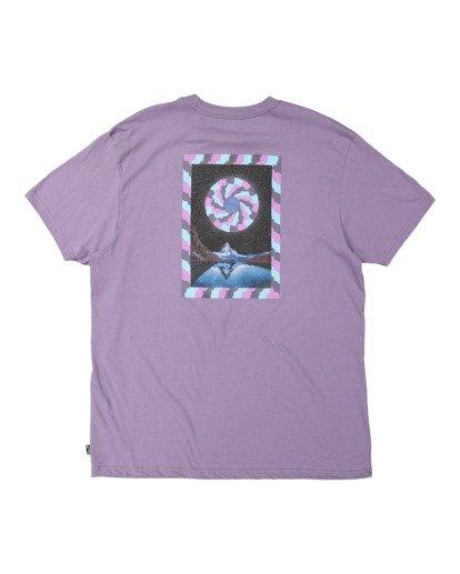 5 Night Mind Short Sleeve Tee Purple 9517039 Billabong
