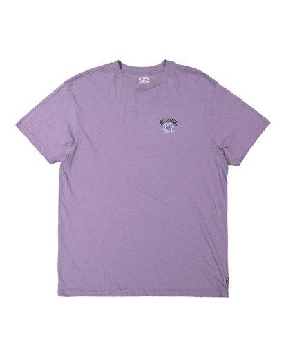 4 Night Mind Short Sleeve Tee Purple 9517039 Billabong