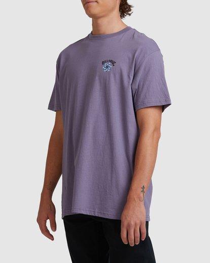 1 Night Mind Short Sleeve Tee Purple 9517039 Billabong