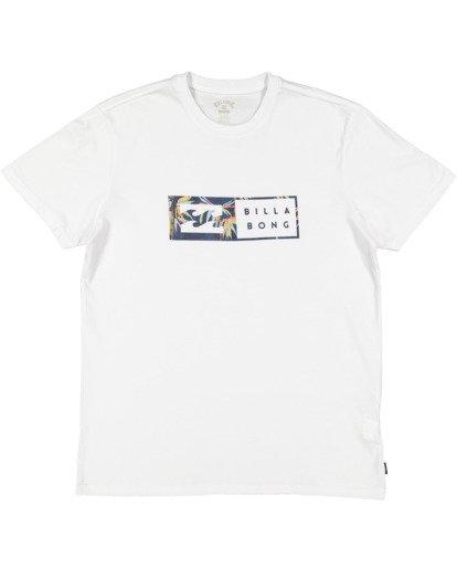 4 Inverse Short Sleeve Tee White 9517049 Billabong