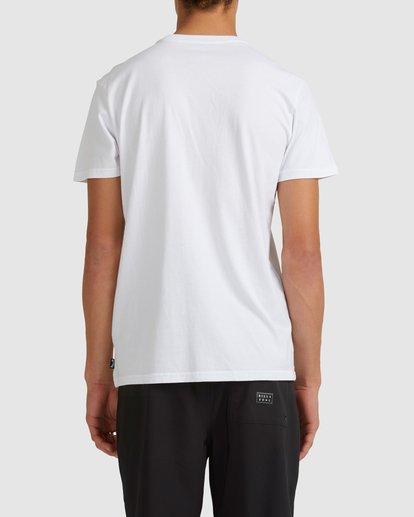 2 Inverse Short Sleeve Tee White 9517049 Billabong