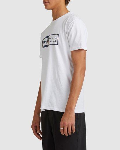 1 Inverse Short Sleeve Tee White 9517049 Billabong