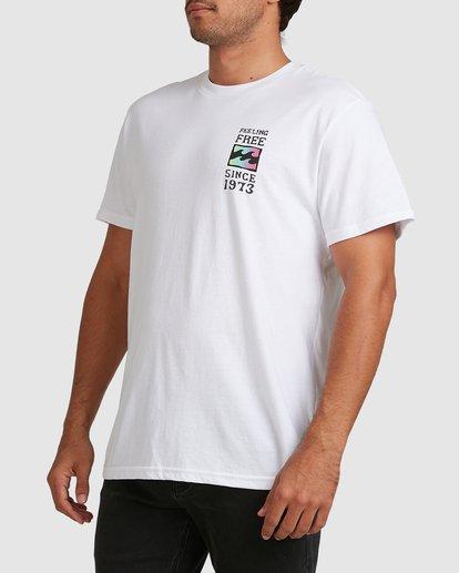 4 Arch Short Sleeve Tee White 9517050 Billabong