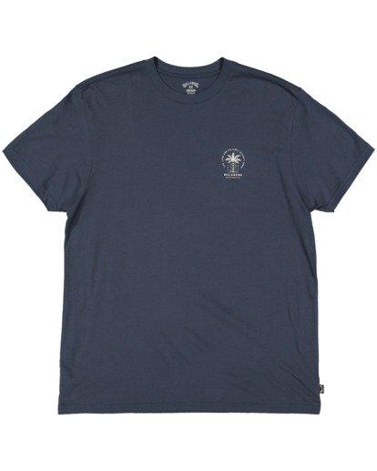 7 Double Tiger Short Sleeve Tee Blue 9517052 Billabong
