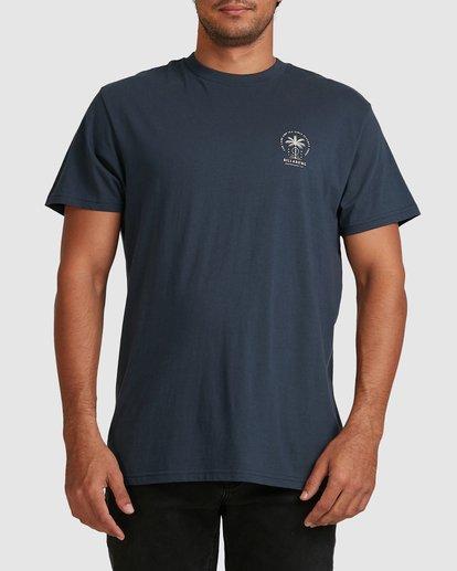 3 Double Tiger Short Sleeve Tee Blue 9517052 Billabong