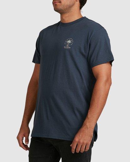 4 Double Tiger Short Sleeve Tee Blue 9517052 Billabong