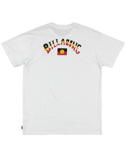 5 Otis Flag Arch Short Sleeve Tee White 9517081 Billabong