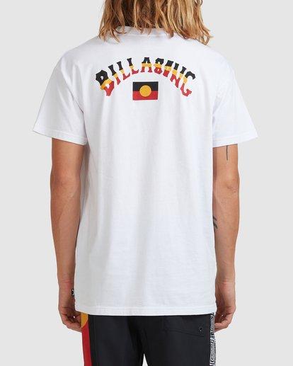 2 Otis Flag Arch Short Sleeve Tee White 9517081 Billabong