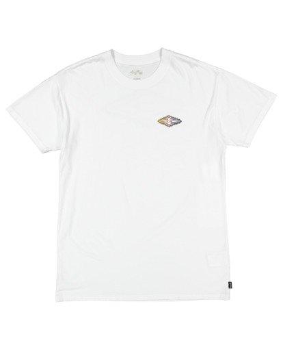 4 Otis Diamond Skies Short Sleeve Tee White 9517084 Billabong