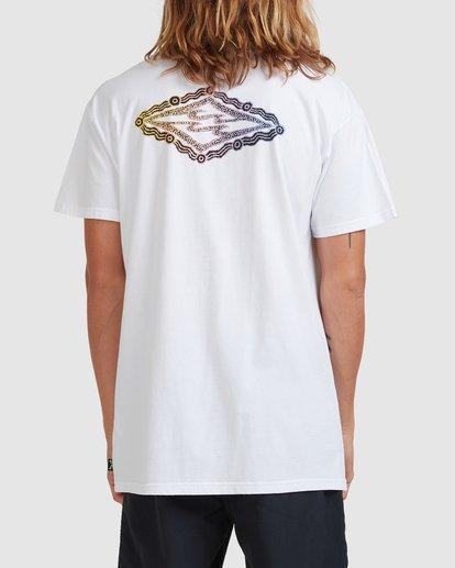 2 Otis Diamond Skies Short Sleeve Tee White 9517084 Billabong