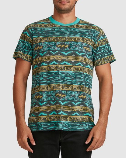 0 Halfrack Crew Green 9517146 Billabong