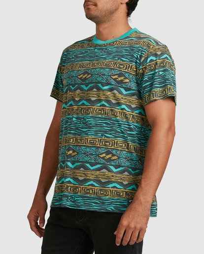 1 Halfrack Crew Green 9517146 Billabong