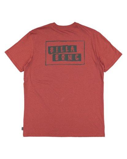 5 Step Cut Short Sleeve Tee Red 9517148 Billabong