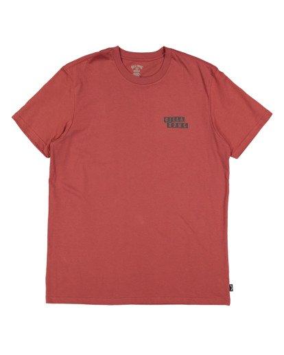 4 Step Cut Short Sleeve Tee Red 9517148 Billabong