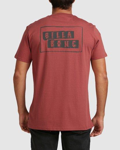 2 Step Cut Short Sleeve Tee Red 9517148 Billabong