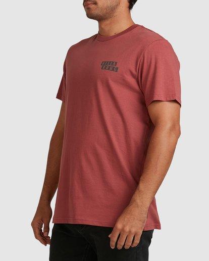 1 Step Cut Short Sleeve Tee Red 9517148 Billabong