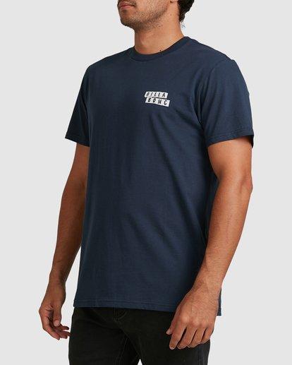 1 Step Cut Short Sleeve Tee Blue 9517148 Billabong