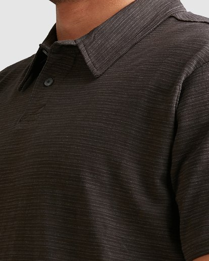 3 Essential Short Sleeve Polo Black 9517151 Billabong