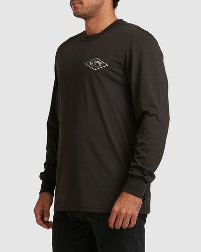 1 Adventure Division Diamond Long Sleeve Tee Black 9517172 Billabong
