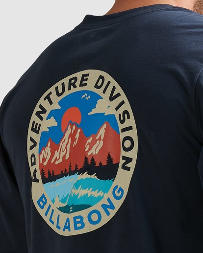 3 Adventure Division View Long Sleeve Tee Blue 9517174 Billabong
