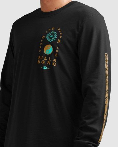 3 Our Ocean Long Sleeve Tee Black 9517178 Billabong