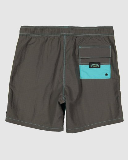 1 Currents Layback Boardshorts Green 9517428 Billabong