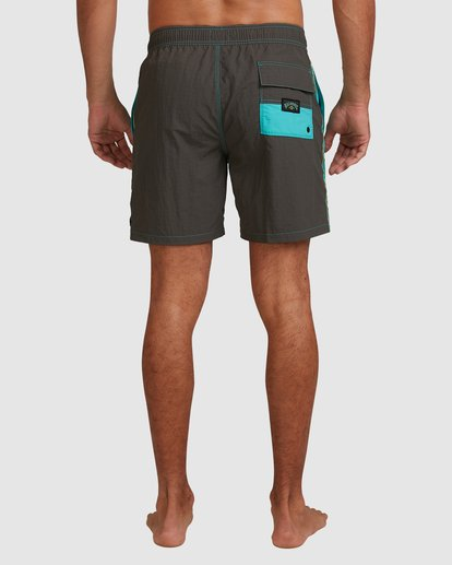 5 Currents Layback Boardshorts Green 9517428 Billabong